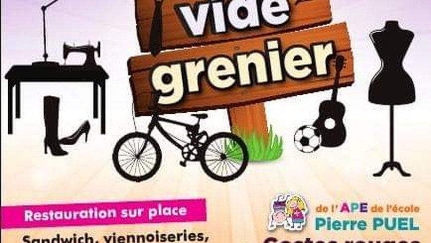 Bientôt, le vide-greniers de l'école publique Pierre-Puel