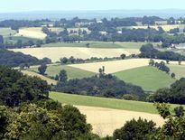 Campagne environnante autour de La Capelle-Bleys./Photo DDM, archives