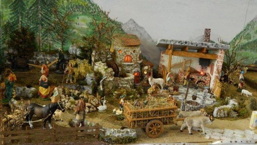 Le village napolitain, une merveille jusque dans les moindres détails.