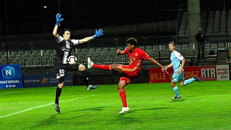 A l'aller, le Raf s'était imposé 1-0 grâce notamment à un but de Dorian Caddy.
