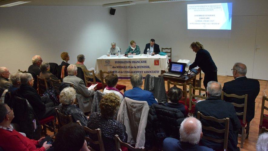 Autour de leur présidente Patricia Michalak, les adhérents du comité ont évoqué les projets de l'année à venir.