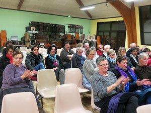 Le film « Les invisibles » a interpellé le public sur l'action de travailleuses sociales.