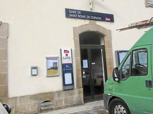 Qui en veut à la gare de Saint-Rome-de-Cernon ?