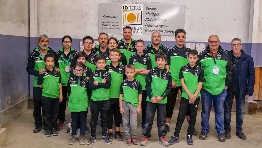 L'école de pétanque primauboise à l'honneur au championnat départemental des clubs