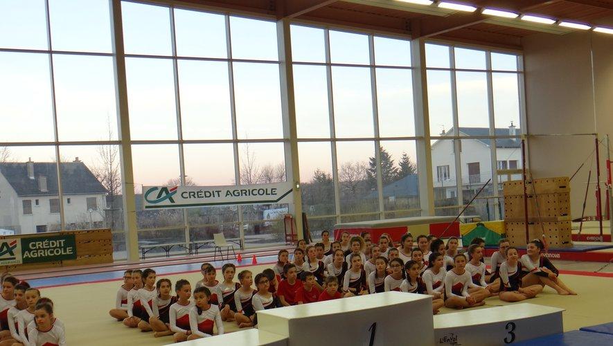 Challenge mozaïc : les gymnastes de l'Envol ont présenté leurs enchaînements