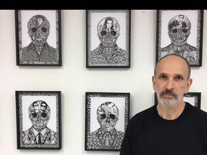 L'Aubinois Didier Estival expose à la galerie Réplique