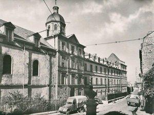 L'ancien hôpital Combarel.