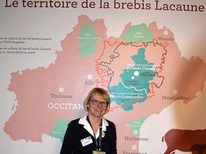 Cécile Arondel-Schultz est à la tête de la Confédération générale de Roquefort depuis octobre 2017.