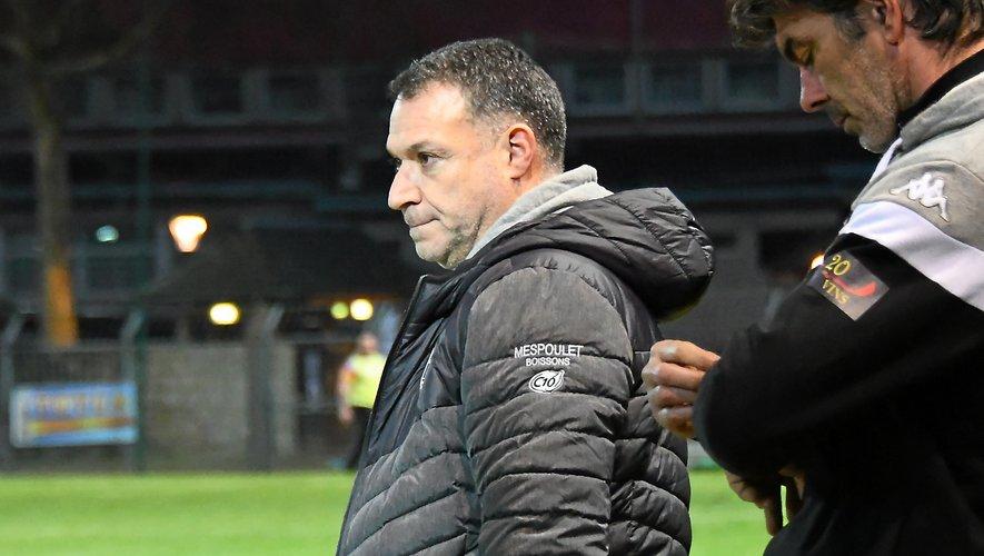 """Pour Arnaud Arnaud Vercruysse, la prestation de ses joueurs a été """" très très moyenne"""" dans le Tarn."""
