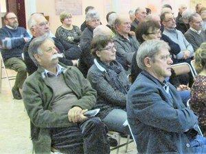 L'assemblée a élu les membres du bureau.