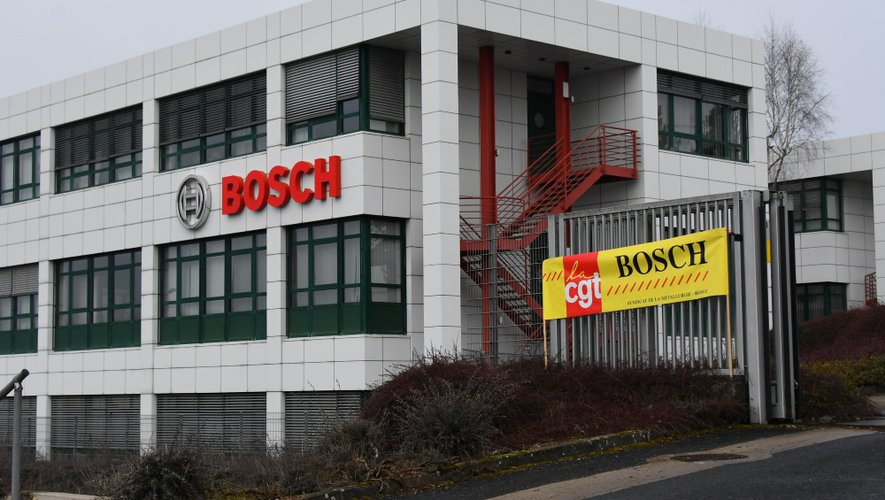 Les salariés du site Bosch de Rodez restent inquiets pour leur avenir.