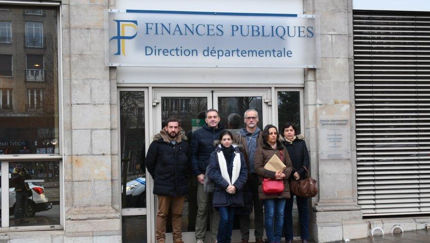 Mouvement de grève aux finances publiques de Corse-du-Sud
