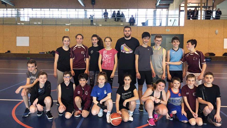 Des vacances bien remplies  pour les jeunes de Basket Vallon