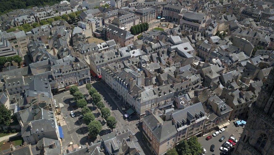 L'attractivité du centre-ville reste importante.