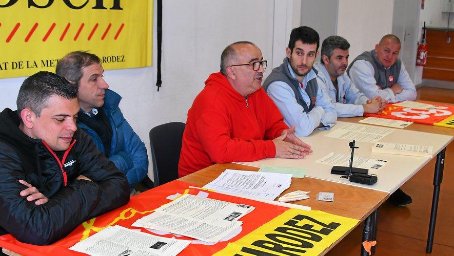 Un syndicat offensif pour défendre des centaines d'emplois industriels.