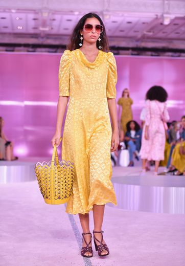 L'esprit champêtre selon Kate Spade New York. Collection printemps-été 2019. Le 7 septembre 2018 à New York.