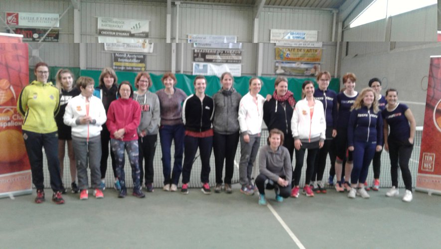 Les participantes au tournoi multichances.