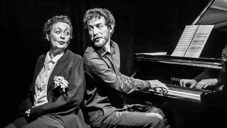 Deux spectacles à découvrir prochainement : ici les Gourmandises de Satie, dans la salle Yves-Roques.