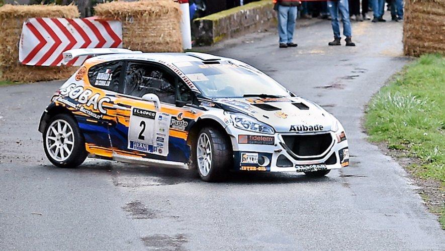Jean-Michel Da-Cunha (208 R5) avait arraché la victoire  à Jean-Laurent Chivaydel (Ford Fiesta R5) lors de l'ultime spéciale, l'an passé à Marcillac.