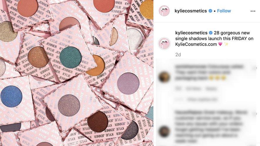 Kylie Cosmetics Instagram 2019