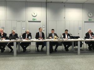 La délégation a été reçue par les plus hauts responsables du groupe.