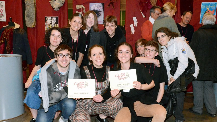 En obtenant le prix du jury et le prix du public, Théâtrajeunes a doublé la mise.