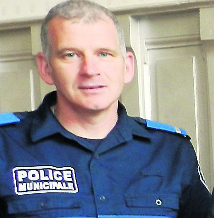 Bruno Acquié est le chefde la police municipale.