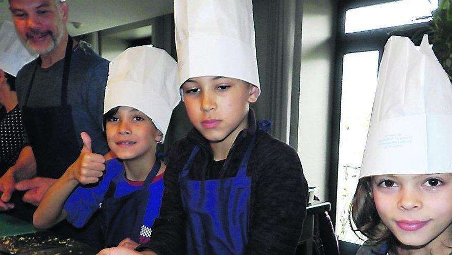"""Un atelier pâtisserie dans le cadre """"Mars bleu"""""""