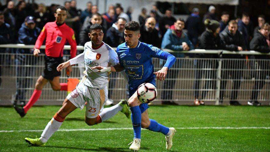 Florian David et les Ruthénois n'ont pu enchaîner un cinquième succès de rang à Villefranche hier. Mais ils ont ramené un point qui vaut assurément cher dans la course à la montée en Ligue 2.