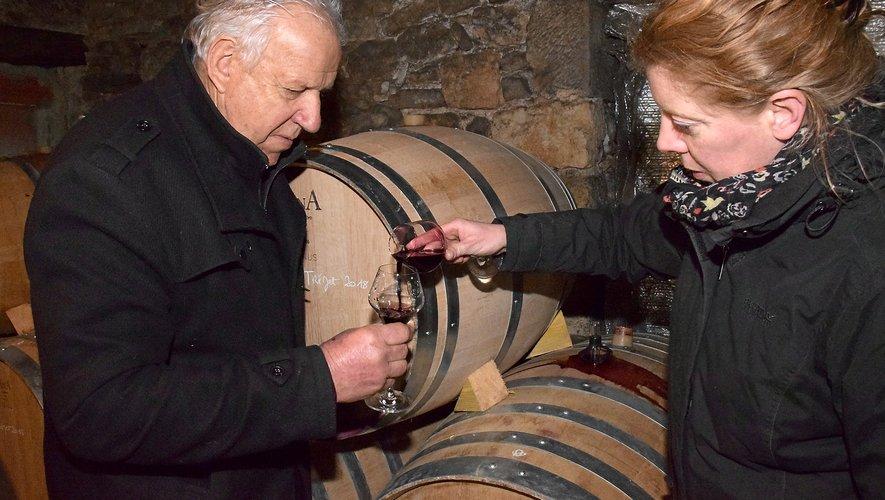 Marcel Mézy s'enracine dans le vignoble de Cahors.