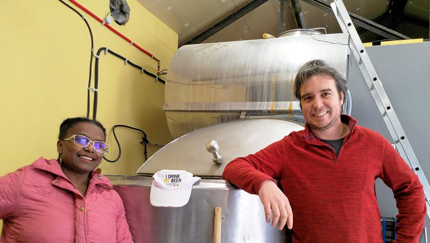Azeb et Régis Dantin, un couple de brasseurs d'abord attaché à la qualité de leurs produits.