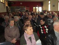 Le public a passé un agréable après-midi en compagnie des Rascalous de Villecomtal.