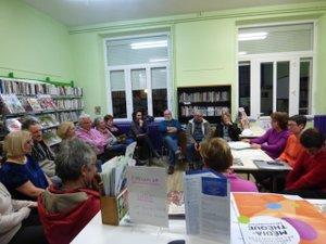 Le bureau donne rendez-vous pour un spectacle le 29 mars à la bibliothèque.