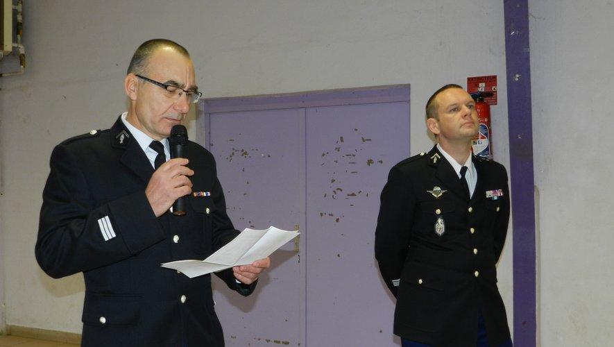 Le capitaine Frédéric Erre a présenté l'activité de sa communauté de brigades. Pour la dernière fois, étant appelé à rejoindre au mois d'aoûtle centre opérationnel de la gendarmerie de l'Aude à Carcassonne.