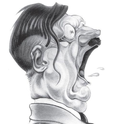 """Hitler, """"tête de Turc"""" de Cabrol."""