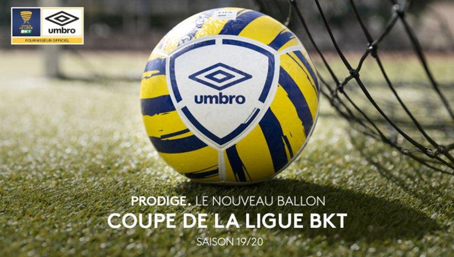"""""""Prodige"""", le ballon de la Coupe de la Ligue 2019-2020"""