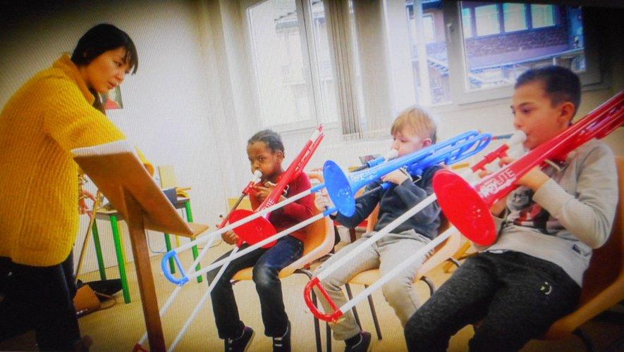 Les jeunes des Francas bénéficient d'une pédagogie de groupe.