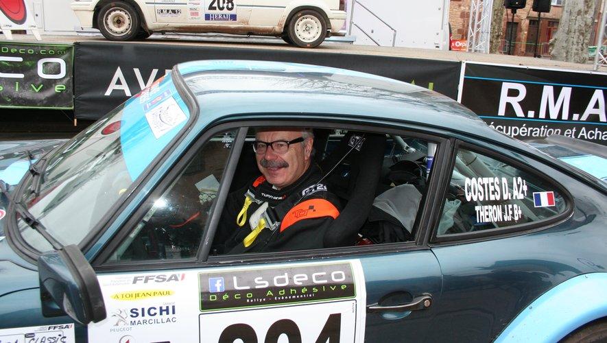 Le président de la CCI de l'Aveyron figurait parmi les participants au rallye du vallon de Marcillac.