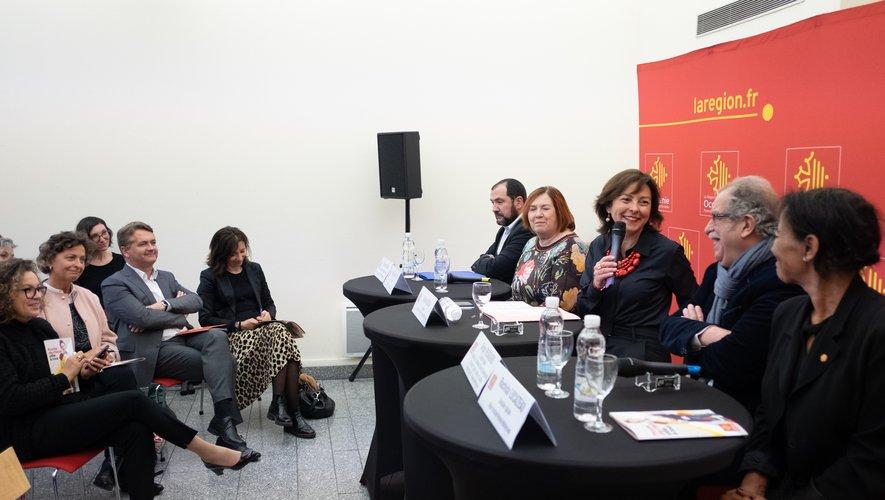 Carole Delga a présenté le dispositif lundi 18 mars, à Toulouse.