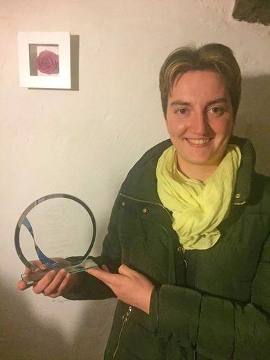 Vanessa Teyssèdre récompensée au challenge régional Occitanie.