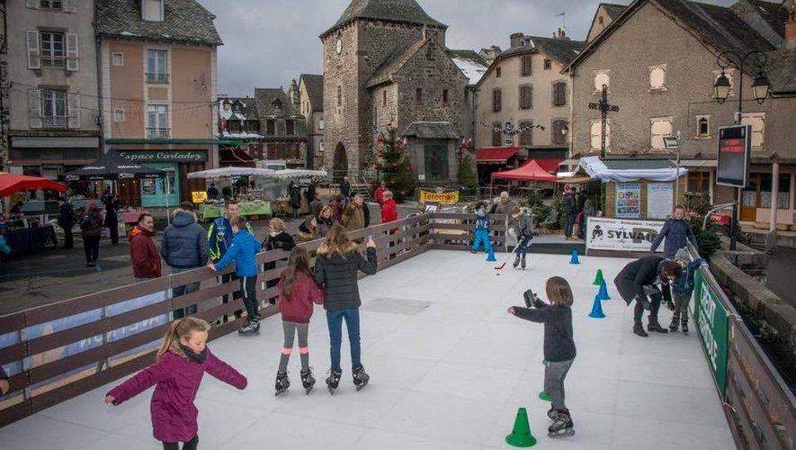 La patinoire, succès des animations, devrait revenir l'hiver prochain.