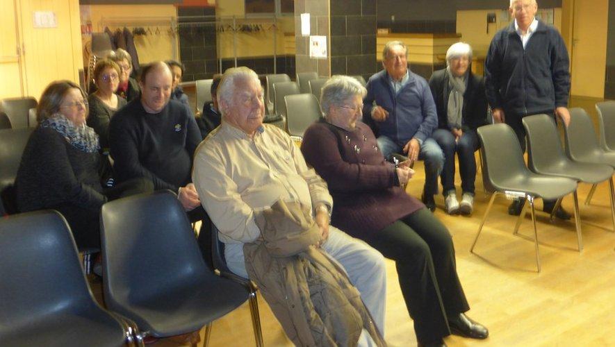 Les participants ont écouté avec attention les conseils de Bernard Gagnant.