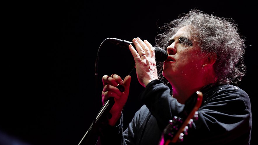 Robert Smith, le chanteur de The Cure.