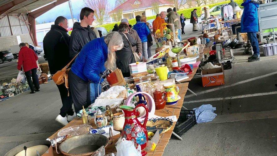 Une idée de sortie, le marché aux puces dimanche à  Baraqueville.