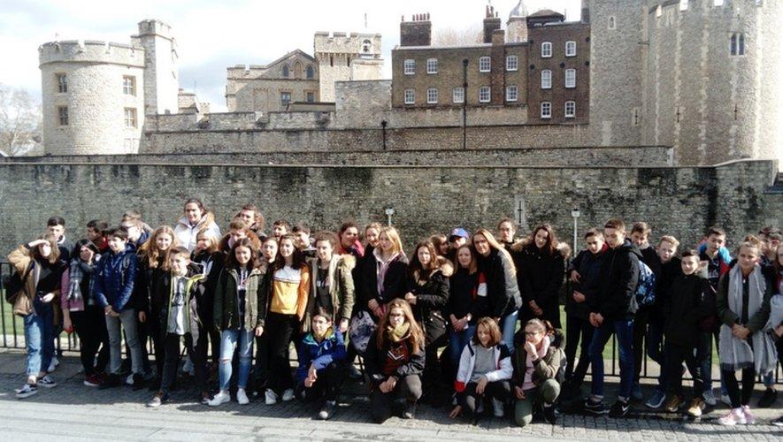 Quatre jours intenses pour les collégiens qui ont découvert les merveilles de Londres et les us et coutumes des Anglais