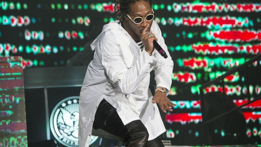 Le rappeur Future au festival de Coachella le 15 avril 2017