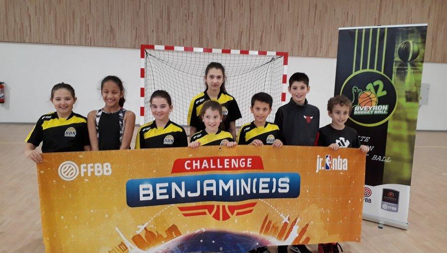 Jeunes du BBN ont porté hautles couleurs du club.
