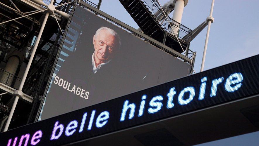Pierre Soulages, le rugbyman