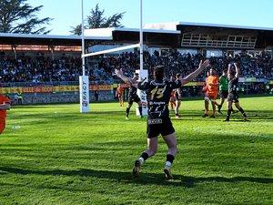 Victoire au courage  de Rodez face à Narbonne, dimanche après-midi en rugby de Fédérale 1.