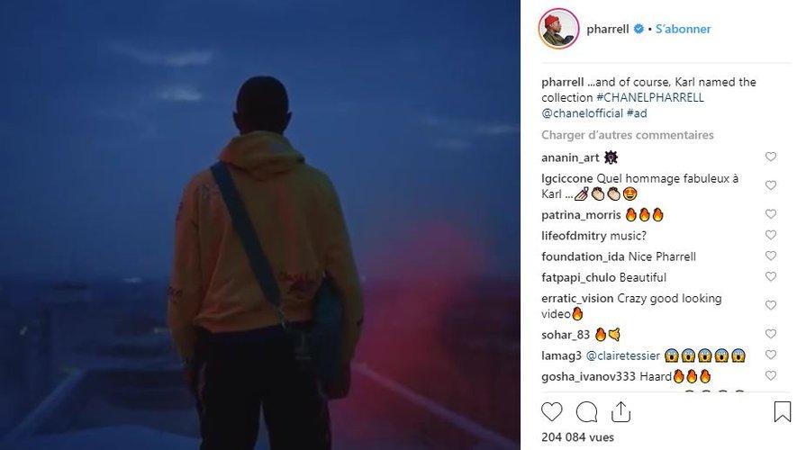 Pharrell Williams fait équipe avec Chanel autour d'une capsule de prêt-à-porter et d'accessoires.